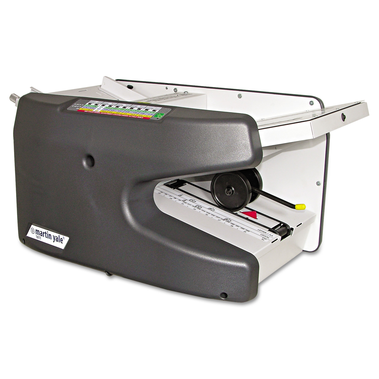 Martin Yale Model 1611 Ease-of-Use Tabletop AutoFolder, 9000 Sheets/Hour -PRE1611