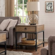 Crosley Furniture Trenton Side Table, Coffee