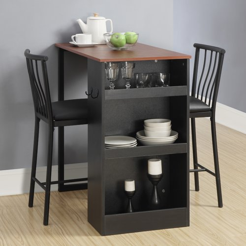 Red Barrel Studio Francis 3 Piece Counter Height Pub Table Set