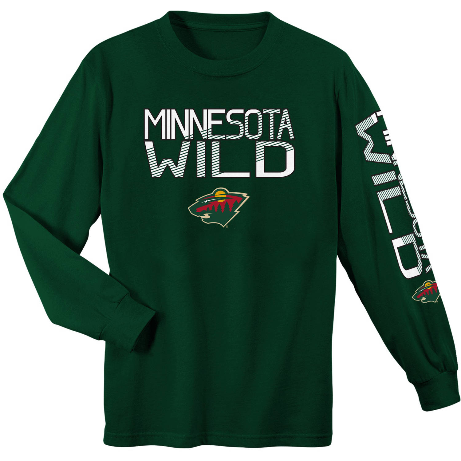 NHL Minnesota Wild Youth Long Sleeve Tee
