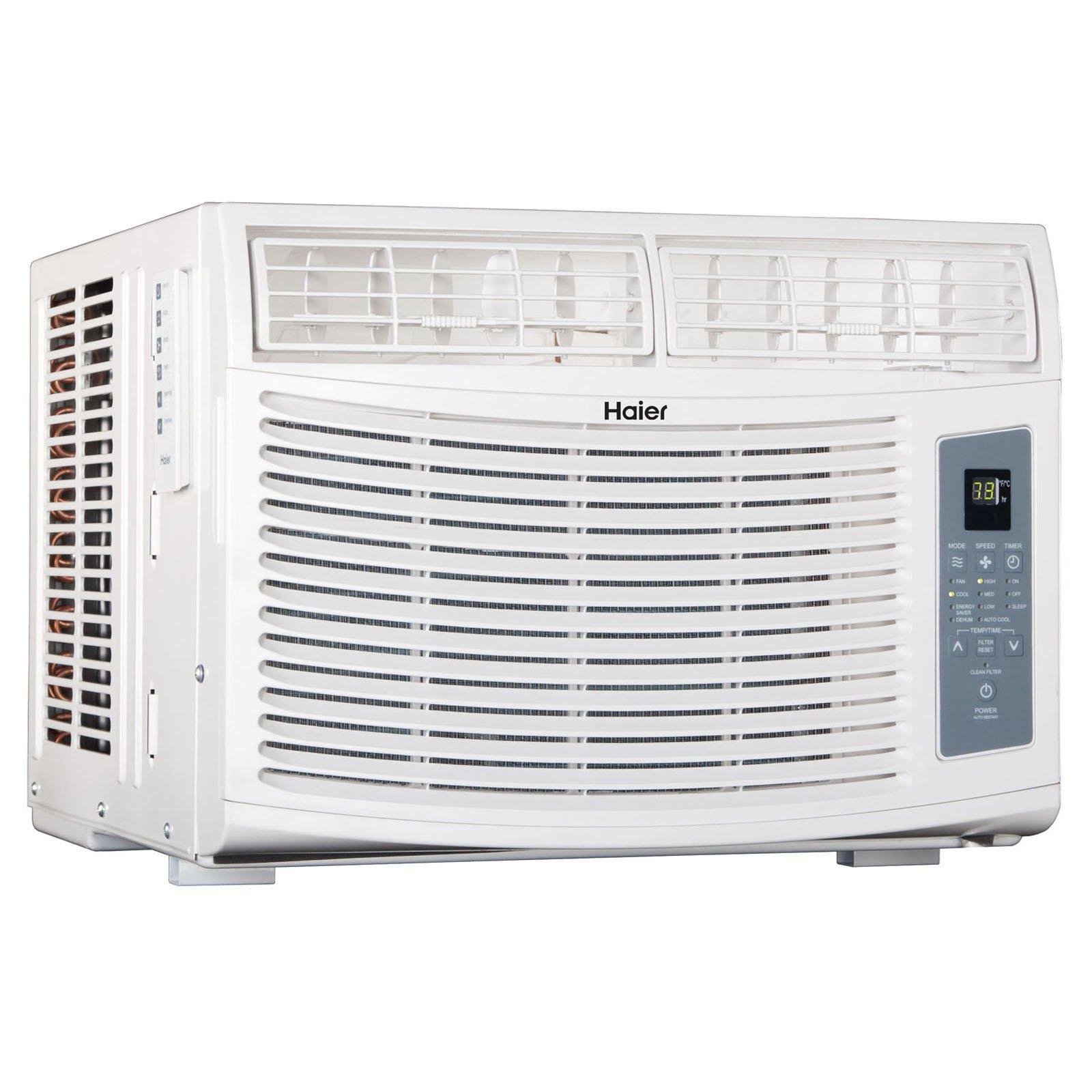 Haier 10000 BTU 115V Window-Mounted Air Conditioner