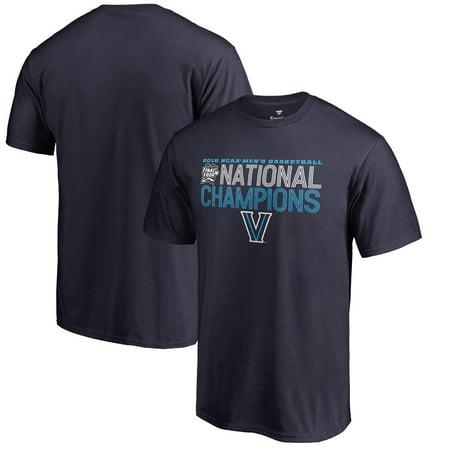2004 Ncaa Basketball Champions - Villanova Wildcats Fanatics Branded 2018 NCAA Men's Basketball National Champions Dribble T-Shirt - Navy
