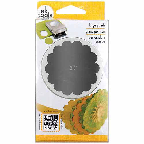 EK Success Nesting Paper Punch, Scallop Circle
