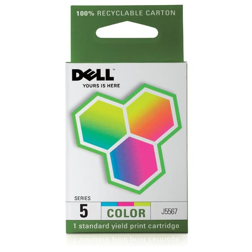 Dell 5 Series Color Ink Cartridge for the 944 All-in-One Printer, UU181