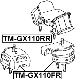 Febest Tmgx110fr Front Engine Mount Lexus Gs300 Jzs147 19931997 Oem 1236070040 Walmart: Toyota Aristo Engine Diagram At Hrqsolutions.co