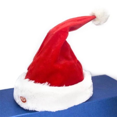 Singing And Dancing Christmas Tree/Moving Christmas Hat Electric Children's Toy Kids Toys,Christmas Present (Battery Free)