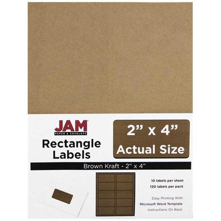 JAM Paper Mailing Address Labels, 2