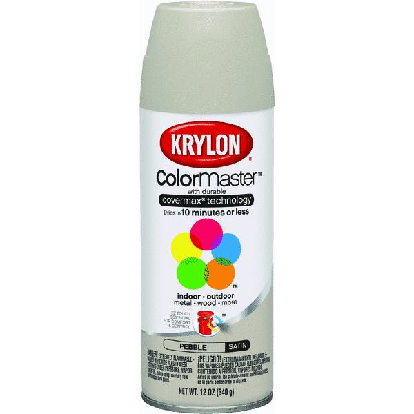 Krylon ColorMaster Pebble Satin Spray Paint