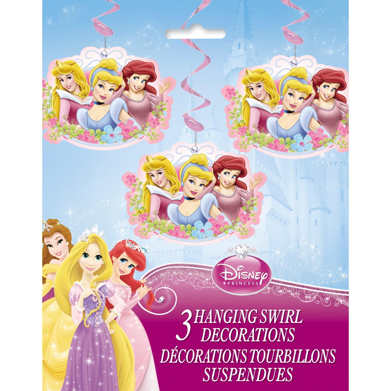 Disney Princess Hanging Decorations, 3pk