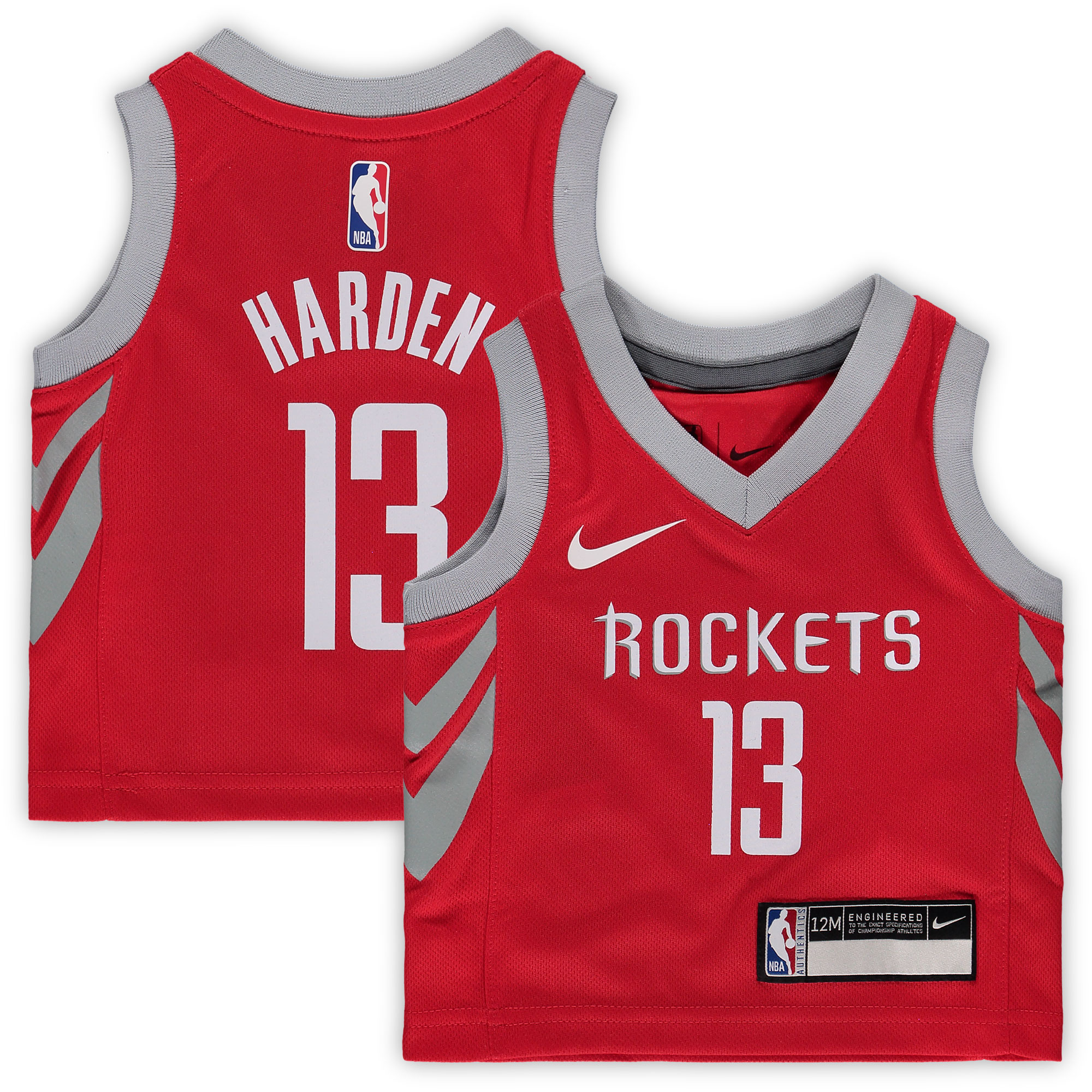 James Harden Houston Rockets Nike Infant Replica Jersey Red - Icon Edition