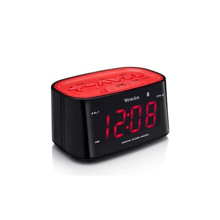 Westclox Bluetooth LED Clock Radio