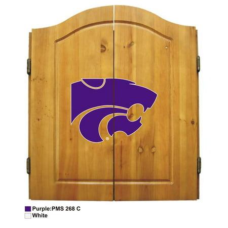 Kansas State University Dart Cabinet Set - image 1 of 1
