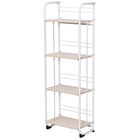 Utility Shelves Walmart Inspiration Gymax Folding 60 Tier Shelves Organization Storage Utility Shelving