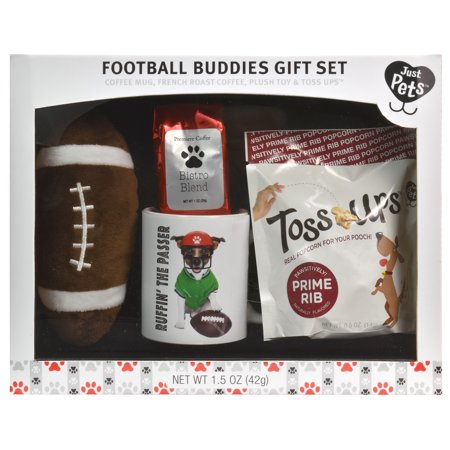 Just Pets - Football Buddies Gift Set Pasta Gift Set