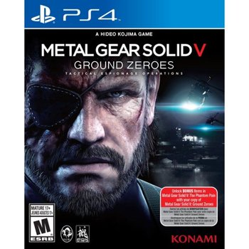 Konami Metal Gear Solid V PlayStation 4 Game