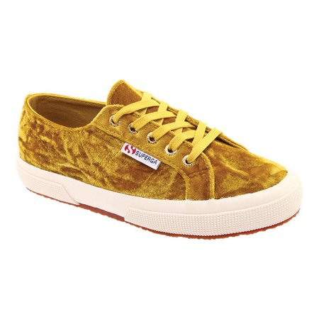 Women's Superga 2750 Crushed Velvet Sneaker (Superga Kids Classic Shoe)