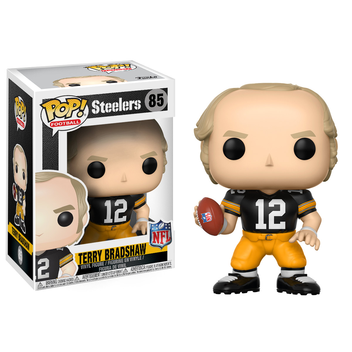 FUNKO POP! SPORTS: NFL Legends - Terry Bradshaw (Steelers Home)