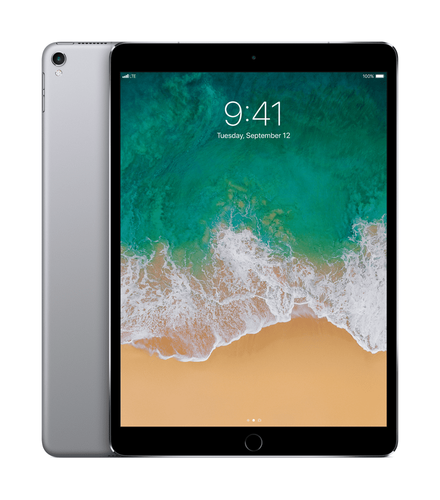 Apple 10.5-inch iPad Pro Wi-Fi + Cellular 256GB Space Gray by Apple