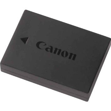 canon original lp-e10 lithium-ion battery for canon camera eos rebel t3, t5, 1100d and kiss x50 (non-retail packaging) ()