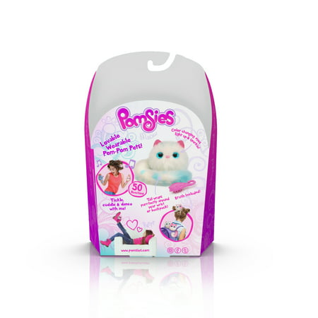 Pomsies Pet Snowball- Plush Interactive Toy