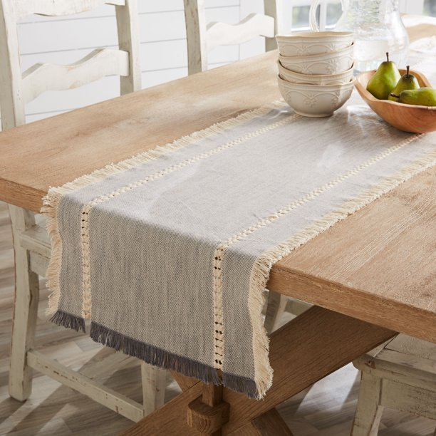 Better Homes Gardens Table Runner, What Size Tablecloth For A 38 X 72 Table
