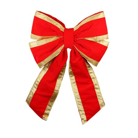 Dyno Commercial 4 Loop UV Treated Outdoor Christmas Bow Decoration for $<!---->