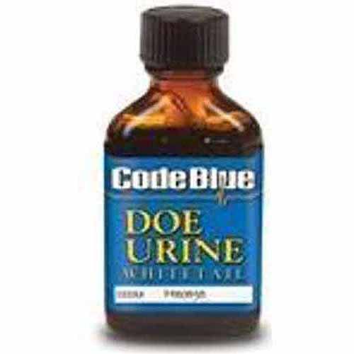 Code Blue Whitetail Doe Urine, 1 oz