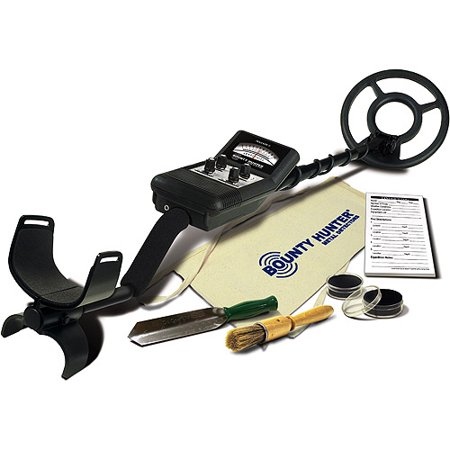 Bounty Hunter Tracker II Hobby Metal Detector Archaeology Kit