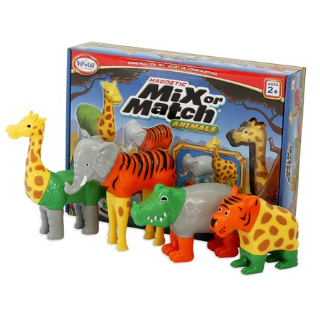 Magnetic Mix or Match Animals (Magnetic Match Rings)