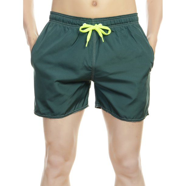 Lelinta - LELINTA Adult Casual Mens Swim Trunks Board Shorts Bathing  Swimsuit Elastic Waist Back Pockets with Zipper Surf Swim Shorts Summer  Beachsuit Underwear Dark Green - Walmart.com - Walmart.com