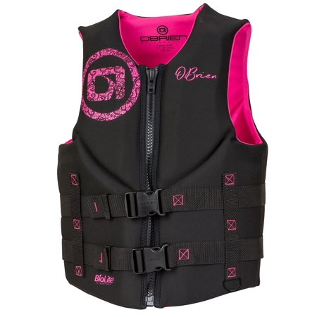 O'Brien Women's Traditional Neo Life Jacket, Pink, (Body Glove Life Vest)