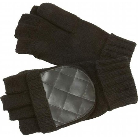 GFGLVMTB Casual Outfitters Mens Convertible Black Gloves-mittens - image 1 of 1