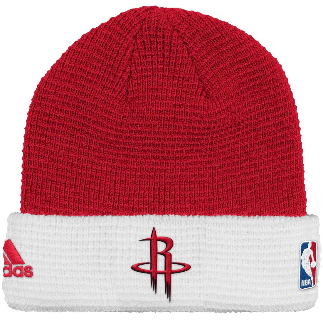 Houston Rockets Adidas NBA 2015 Authentic Team Cuffed Knit Hat