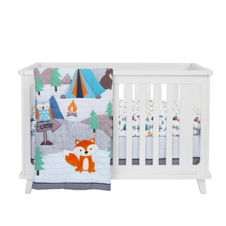 Nursery Bedding Accessories (Parent's Choice 3 Piece Nursery Set, Adventure)