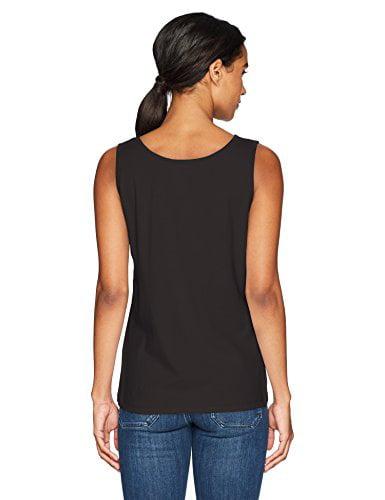 Hanes Ribbed Tank Top Women/'s Mini Cotton Shirt 100/% pure cotton Wide Straps