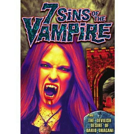 7 Sins of the Vampire (DVD) - The Seven Sins Of Halloween