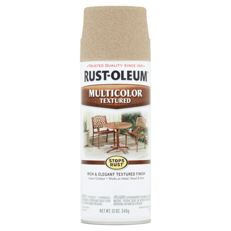 Desert Tan Paint ((3 Pack) Rust-Oleum Stops Rust Multicolor Textured Desert Bisque Spray Paint, 12 oz)