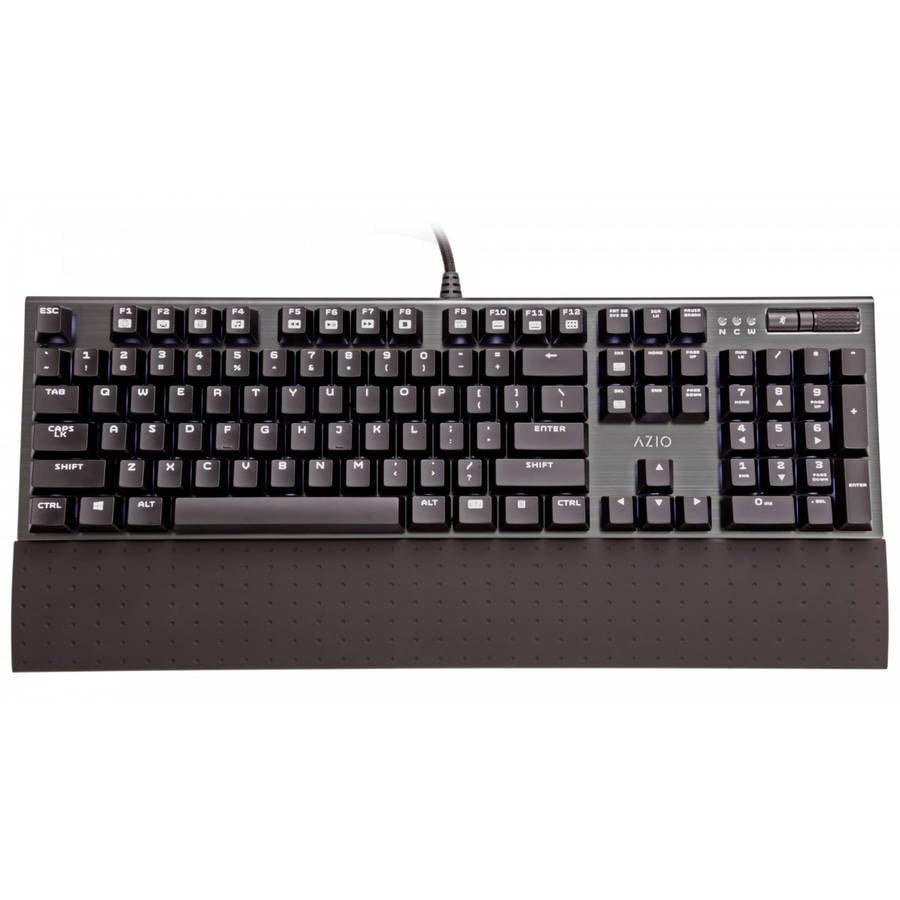 AZiO MGK1 Backlit Mechanical Gaming Keyboard, Black