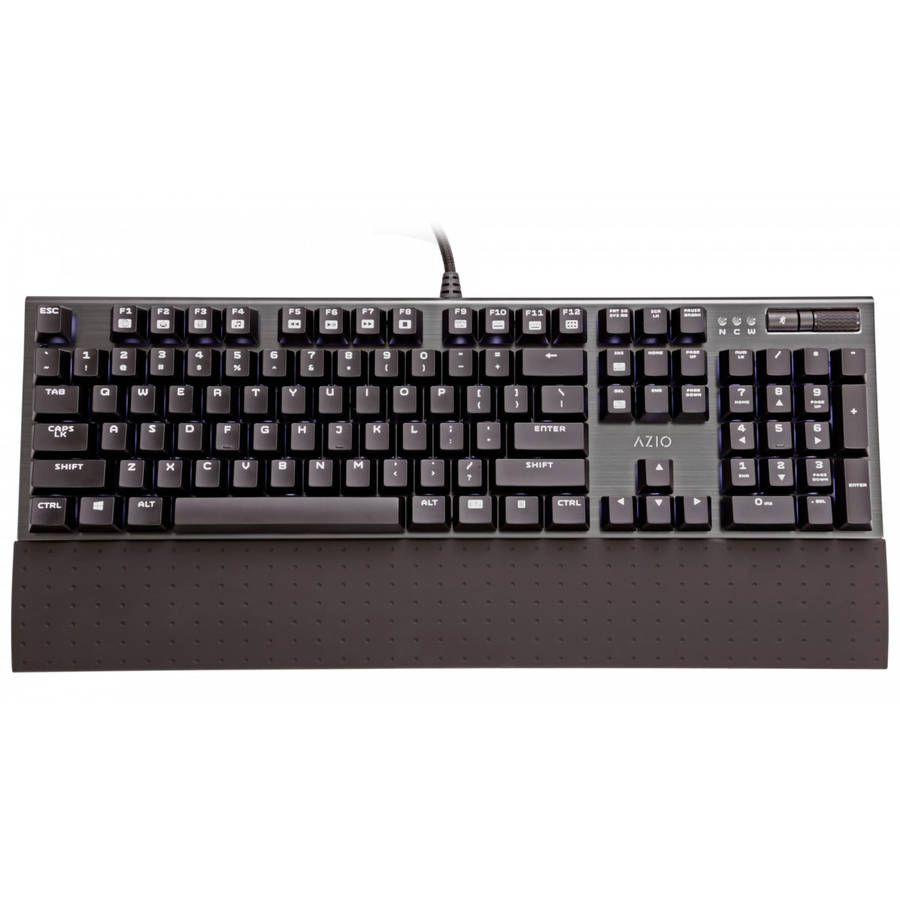 AZiO MGK1 Backlit Mechanical Gaming Keyboard, Black