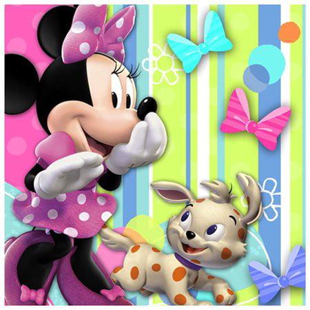 Minnie Mouse Napkins (Minnie Mouse 'Bow-Tique' Small Napkins)