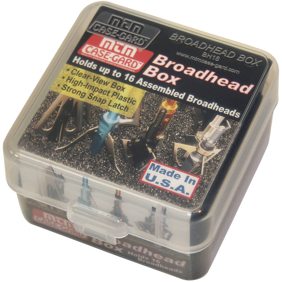 MTM Broadhead Box, Clear