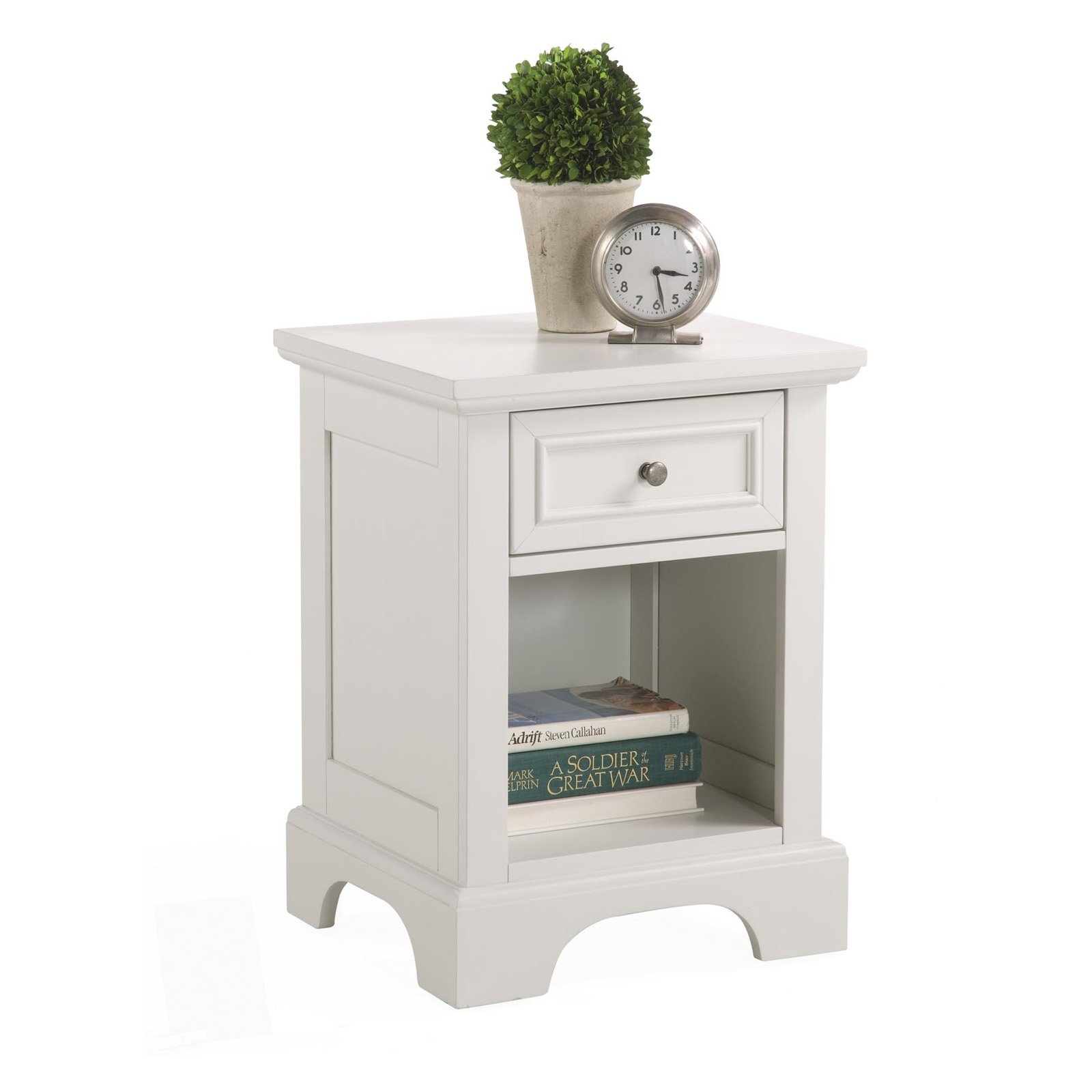 Home Styles Naples Nightstand, White by Home Styles