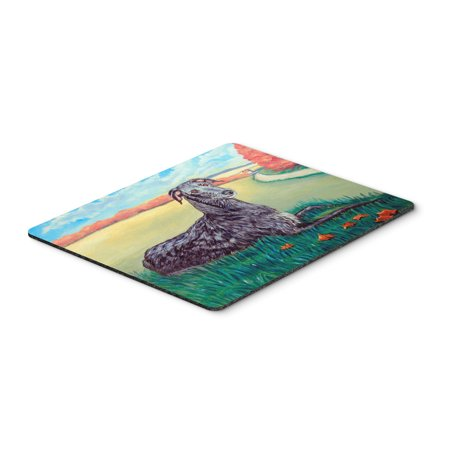 Scottish Deerhound Mouse Pad / Hot Pad / Trivet