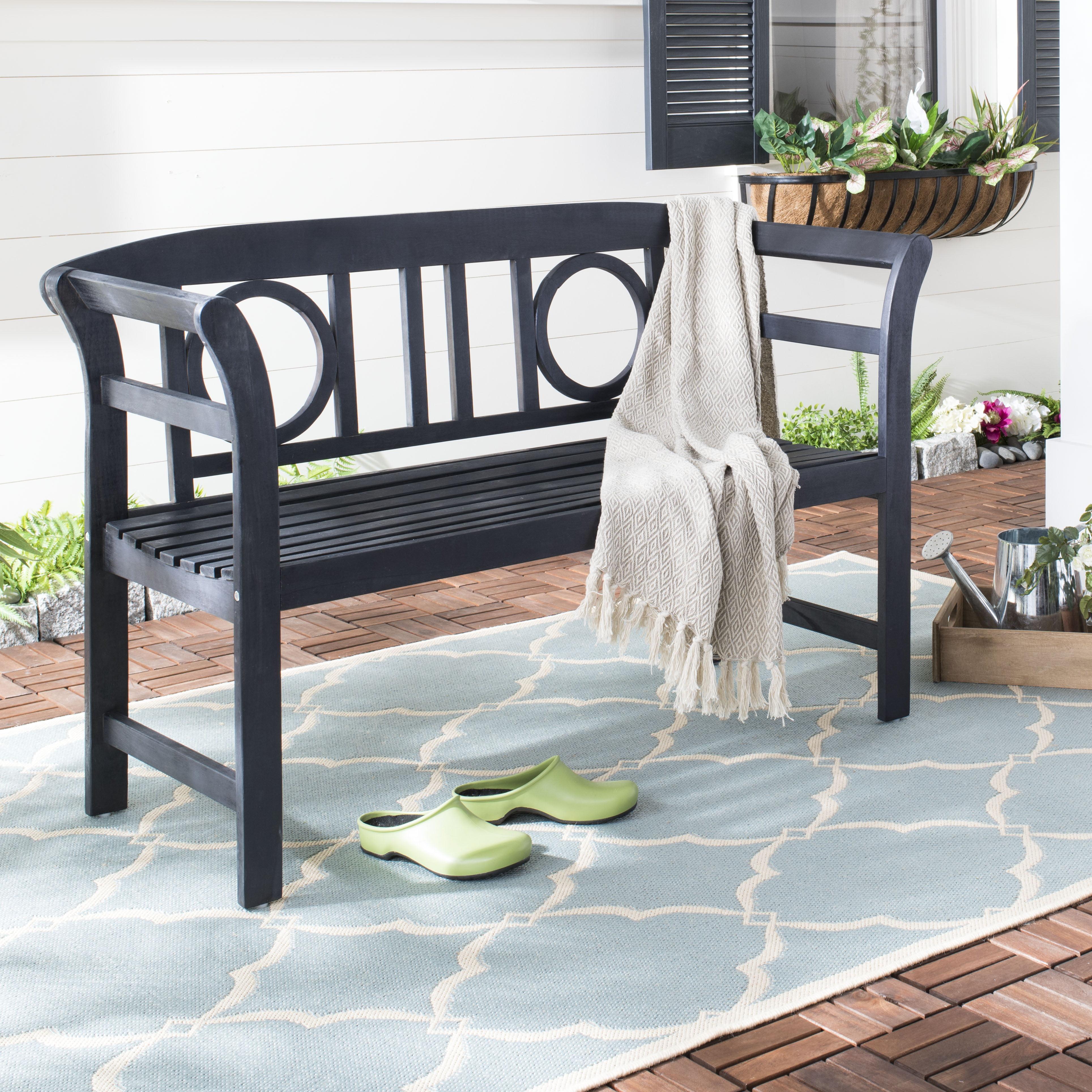 Safavieh Moorpark Indoor/Outdoor Modern 2 Seat Bench