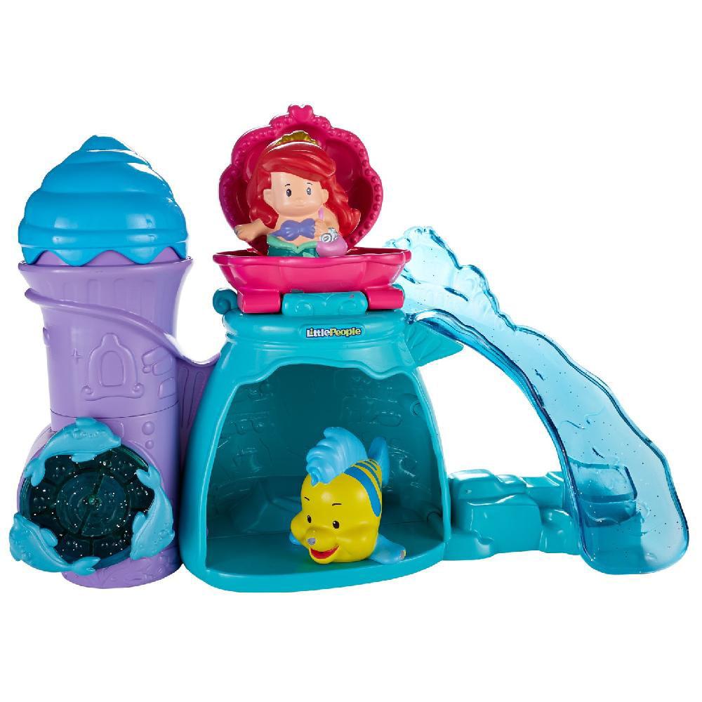 Disney Princess Ariel\'s Splashing Grotto By Little People - Walmart.com