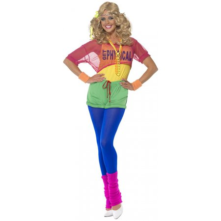 Lets Get Physical Girl Adult Costume - Large