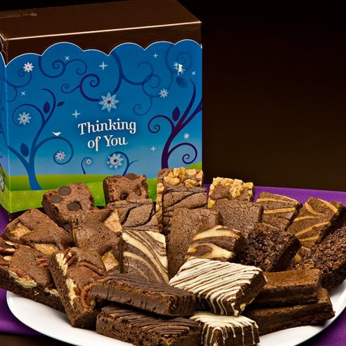 Fairytale Brownies Thinking of You Sprite 24 Brownie Gift Box