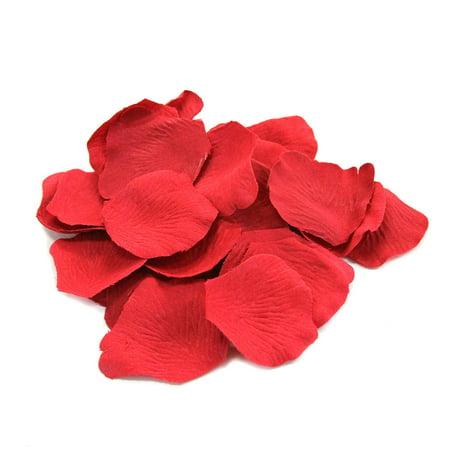 DIY Wedding Koyal Wholesale Silk Rose Petals, True Red, 1200-pack