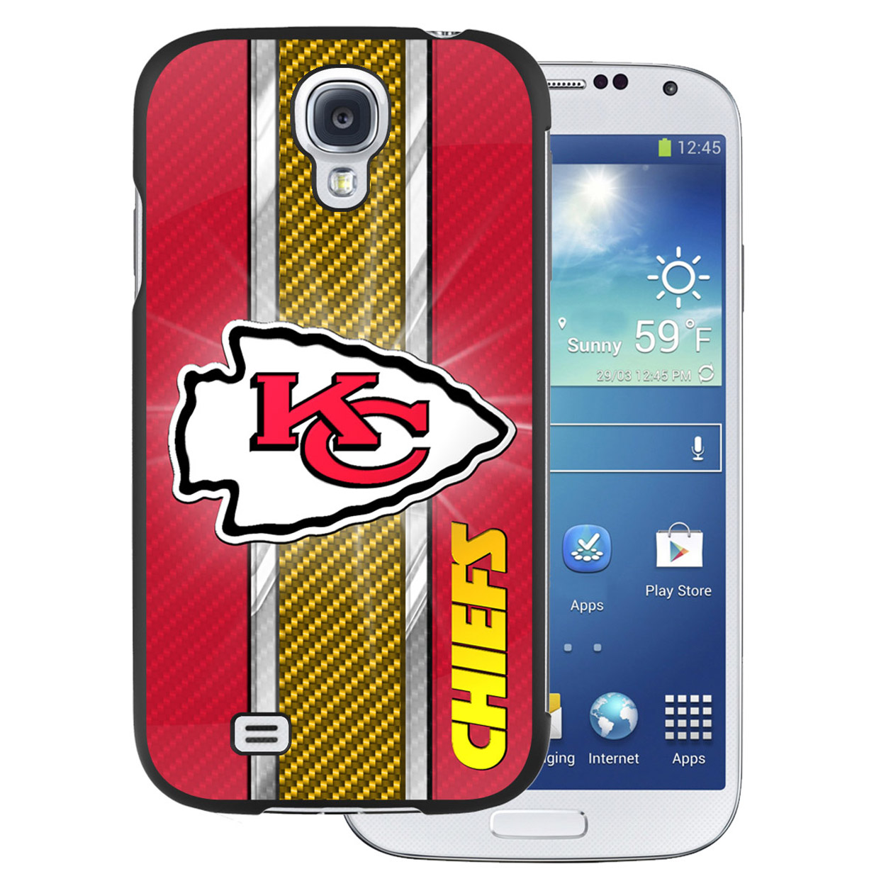 NFL Samsung Galaxy 4 Case - Kansas City Chiefs