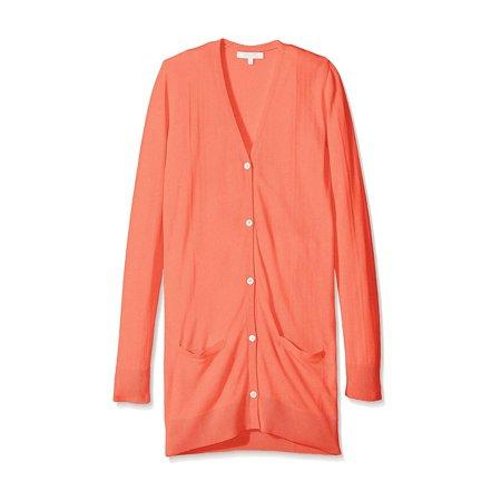 Marigot Women's Silk Cashmere Blend Classic - Silk And Cashmere Ribbed Cardigan